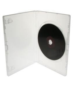 Θήκη CD για 1 δίσκο, 14mm, διάφανη, 50τμχ