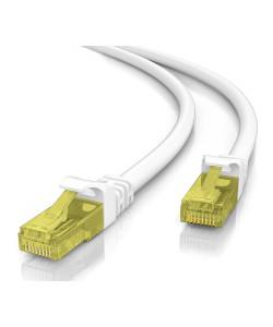 POWERTECH καλώδιο U/UTP Cat 5e CAB-N207, CCA 26AWG 0.4mm, 0.25m, γκρι