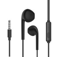 CELEBRAT earphones G12 με μικρόφωνο, 14.2mm, 1.2m, μαύρο