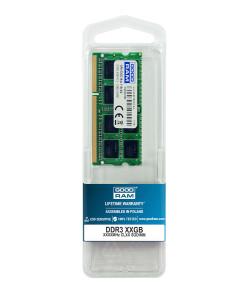 GOODRAM Μνήμη DDR3 SODIMM GR1600S364L11-8G, 8GB, 1600MHz PC3-12800, CL11