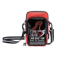 SUPER FIVE τσάντα ώμου K00110-OR, κόκκινη