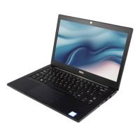 "DELL Laptop 7280, i7-7600U, 8GB, 256GB M.2, 12.5"", Cam, REF FQ"
