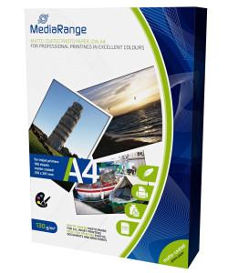 MEDIARANGE φωτογραφικό χαρτί DIN A4 PP MATT, 130g, 100τμχ