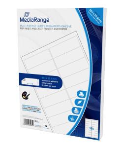 MEDIARANGE Ετικέτες πολλαπλών χρήσεων MRINK147, 99.1x33.9mm, 800τμχ