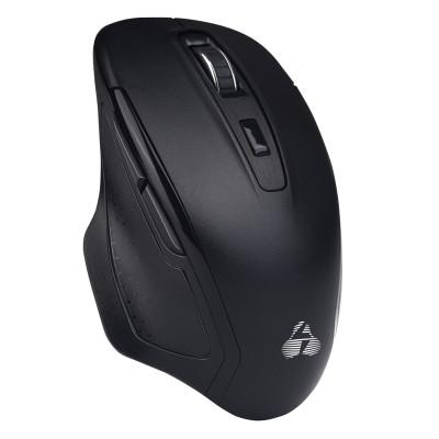POWERTECH ασύρματο ποντίκι PT-853, 1000DPI, Nano USB-A & USB-C, μαύρο