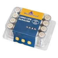 POWERTECH Long Life Αλκαλικές μπαταρίες PT-947, AA LR6 1.5V, 24τμχ