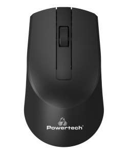 POWERTECH ασύρματο ποντίκι PT-951, οπτικό, 1600DPI, μαύρο