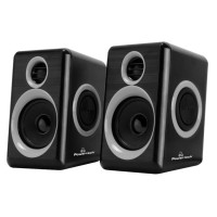 POWERTECH ηχεία Premium sound PT-972, 2x 3W RMS, 3.5mm, μαύρα