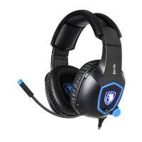 SADES Gaming Headset Dazzle SA-905-BL, 7.1CH, USB, 50mm ακουστικά