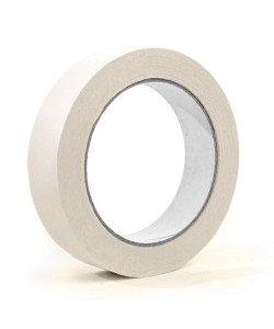 SELLOPLAST Χαρτοταινία Masking 60°C λευκή SEL-007, 19mm, 40m, 8τμχ