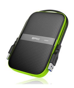SILICON POWER εξωτερικός HDD Armor A60 1TB, USB 3.1, μαύρο