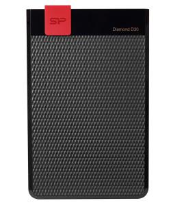 SILICON POWER Εξωτερικός HDD 1TB Diamond D30 D3S, USB 3.1, Black