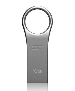 SILICON POWER USB Flash Drive Firma F80, 16GB, USB 2.0, Silver