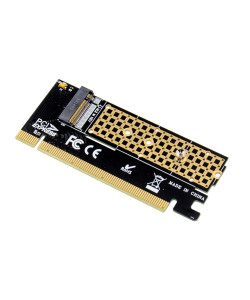 POWERTECH κάρτα επέκτασης 16x PCIe σε M.2 M Key NVMe ST529