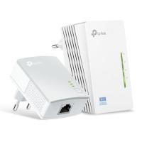 TP-LINK Wi-Fi AV600 Powerline Extender Kit TL-WPA4220, 300Mbps, Ver. 4.0