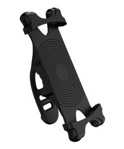 USAMS βάση ποδηλάτου για smartphone US-ZJ053, λαστιχένια, μαύρη